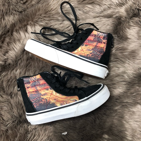 4ddc019745 Vans Skate high top dragon kids 10.5. M 5be67c88a5d7c6a97e4070be. Other  Shoes ...